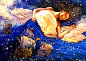 Josephine Wall Astral Voyage