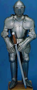 Medival knightly armor