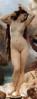 The Birth of Venus  by Bougereau Fragment