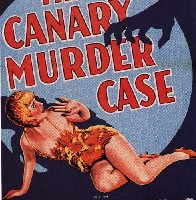 The Canary Murder Case movie poster