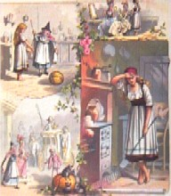 Cinderella  Picture from an olden book