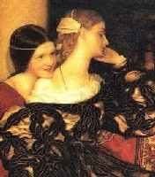 Frank Cadogan Cowper Venetian Ladies Listening to the Serenade