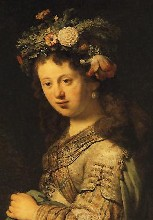 Saskia as Flora