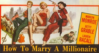 The How To Marry a Millionaire movie poster