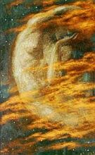 Edward Robert Hughes  Weary Moon
