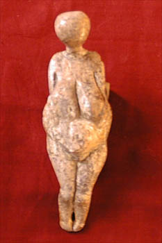 Female figure from Kostenki, Russia
