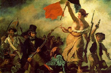 Delacroix. Liberty Leading the People at the Barricade