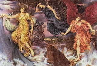 Evelyn De Morgan Spirits of Storm