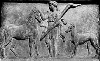 Artemis - patron of animals