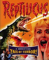 The Reptilicus movie poster