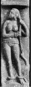 Yakshi with a swan Mathura art
