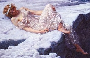 Edward Robert Hughes Heart of Snow