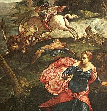 Tintoretto St. George & the Dragon