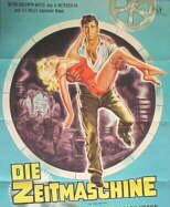 The  Time Machine movie vintage poster (German version)